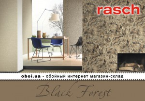Обои Rasch Black Forest