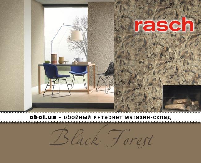 Обои Rasch Black Forest