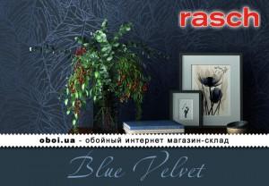 Шпалери Rasch Blue Velvet
