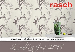 Обои Rasch Endless Joy 2015