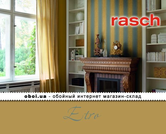 Вінілові шпалери на флізеліновій основі Rasch Etro