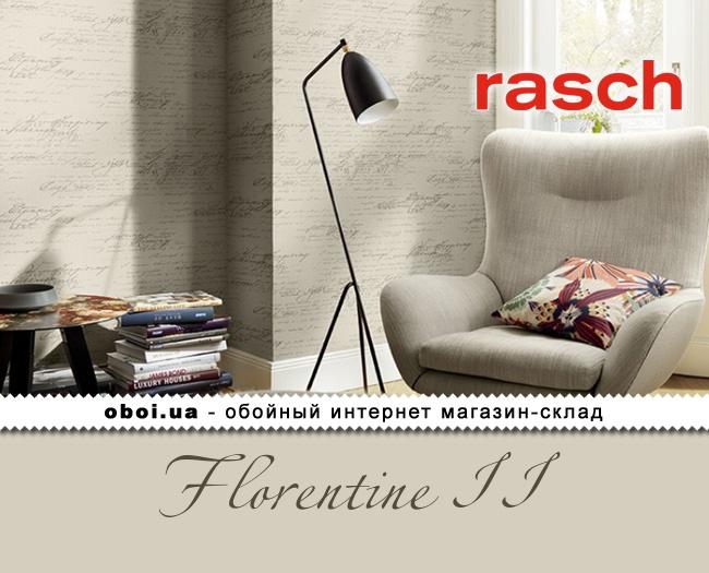 Вінілові шпалери на флізеліновій основі Rasch Florentine II