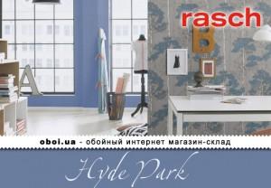 Обои Rasch Hyde Park