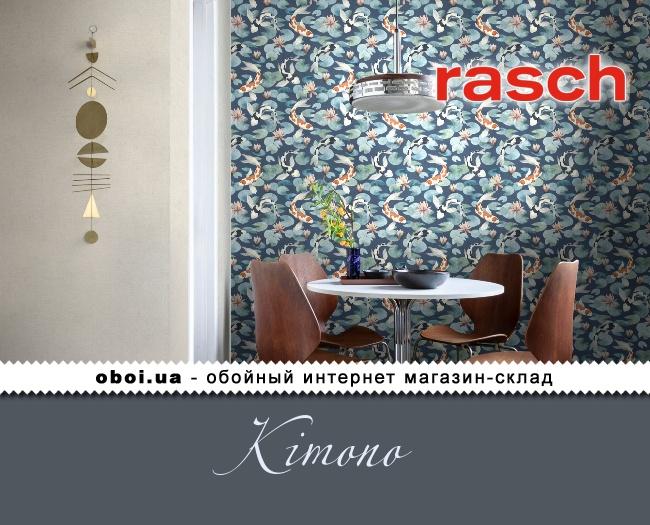 Вінілові шпалери на флізеліновій основі Rasch Kimono