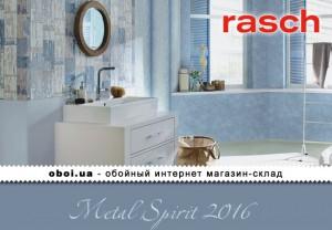 Інтер'єри Rasch Metal Spirit 2016