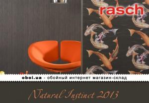 Обои Rasch Natural Instinct 2013