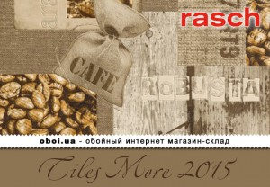 Обои Rasch Tiles More 2015