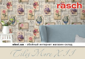 Обои Rasch Tiles More XII