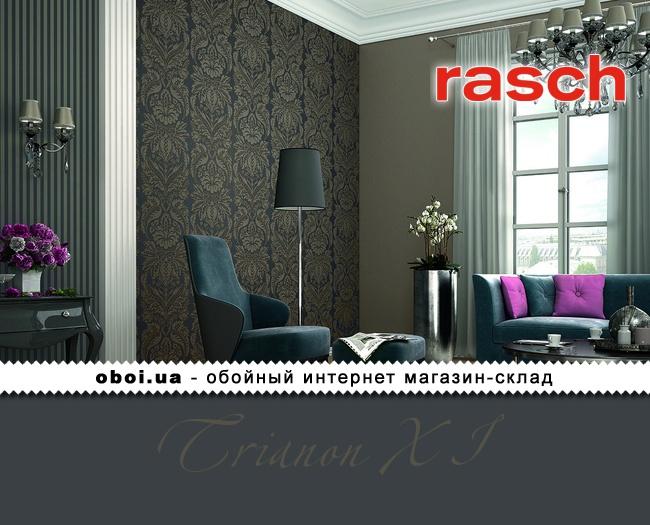 Вінілові шпалери на флізеліновій основі Rasch Trianon XI