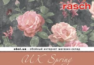 Шпалери Rasch UK Spring