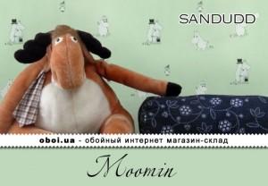 Шпалери Sandudd Moomin