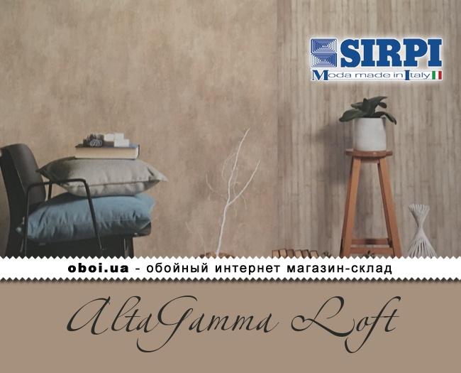 Вінілові шпалери на флізеліновій основі Sirpi AltaGamma Loft