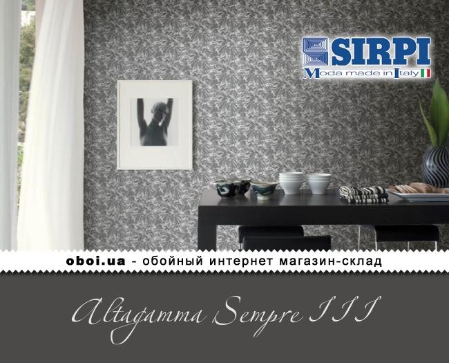 Виниловые обои на флизелиновой основе Sirpi Altagamma Sempre III