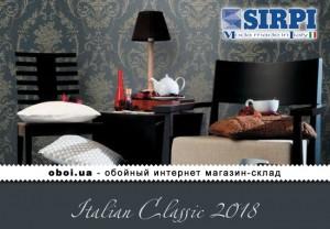 Обои Sirpi Italian Classic 2018
