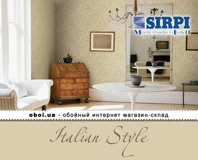 Вінілові шпалери на флізеліновій основі Sirpi Italian Style
