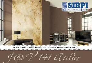 Шпалери Sirpi J&V 141 Atelier