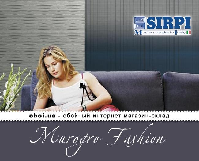 Виниловые обои на бумажной основе Sirpi Murogro Fashion