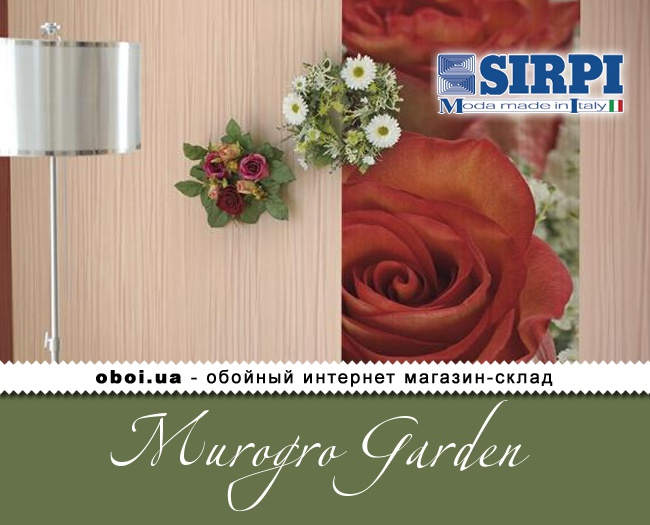 Обои Sirpi Murogro Garden