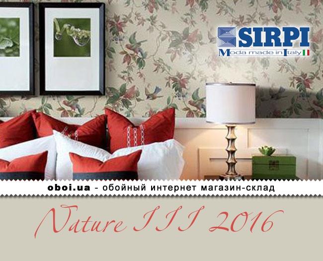 Вінілові шпалери на паперовій основі Sirpi Nature III 2016