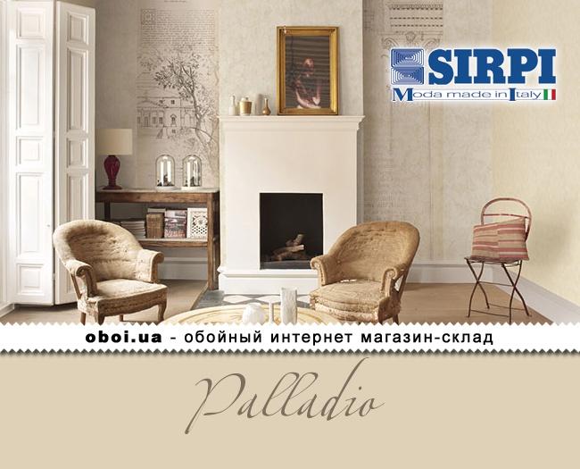 Вінілові шпалери на флізеліновій основі Sirpi Palladio