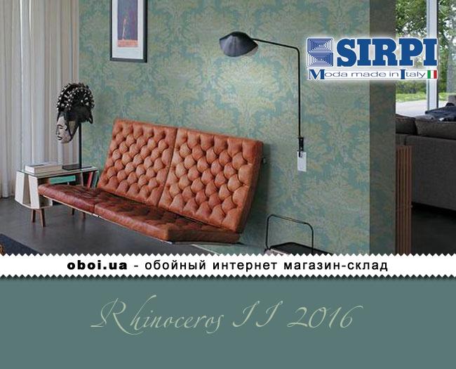 Вінілові шпалери на паперовій основі Sirpi Rhinoceros II 2016
