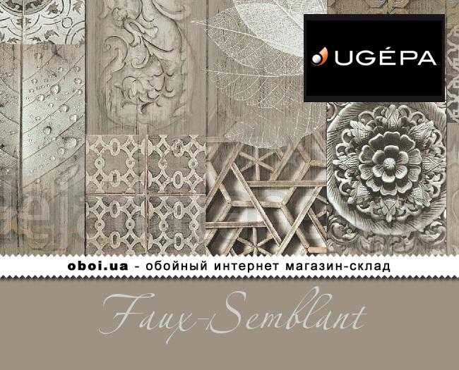 Виниловые обои на бумажной основе Ugepa Faux-Semblant