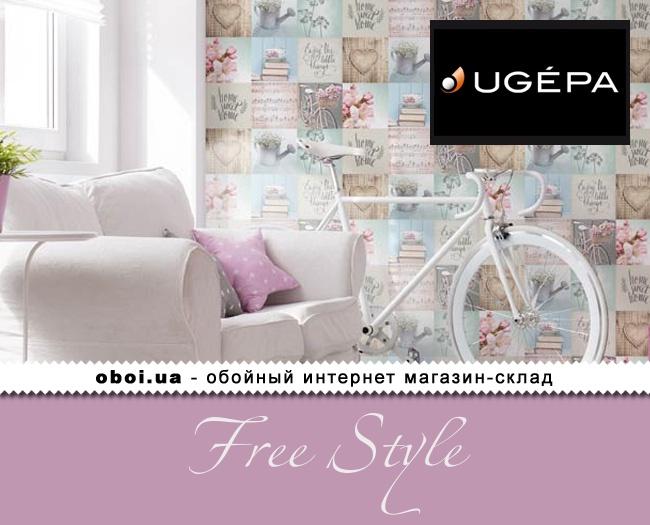 Паперові шпалери Ugepa Free Style