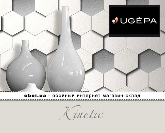 Вінілові шпалери на флізеліновій основі Ugepa Kinetic