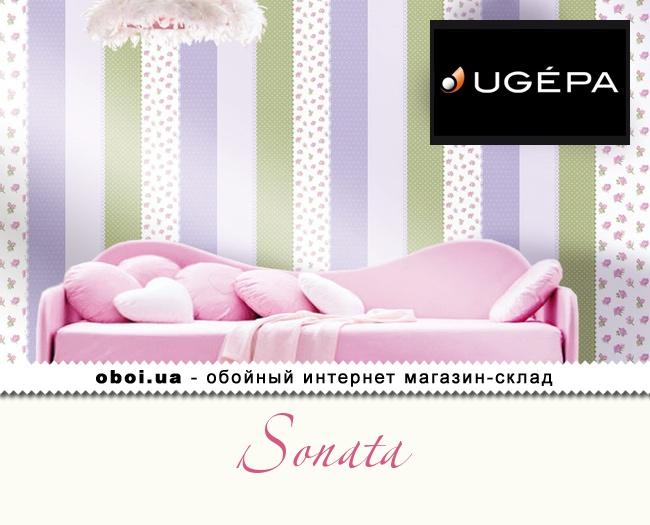 Вінілові шпалери на флізеліновій основі Ugepa Sonata