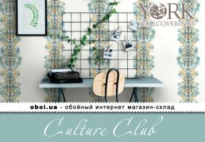 Шпалери York Culture Club