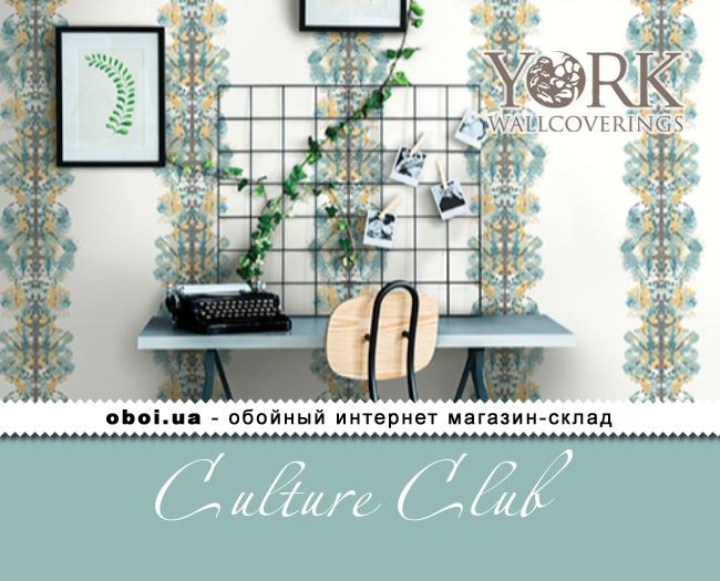 Обои York Culture Club