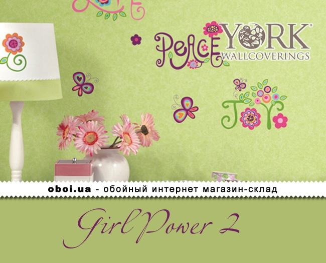 Обои York Girl Power 2