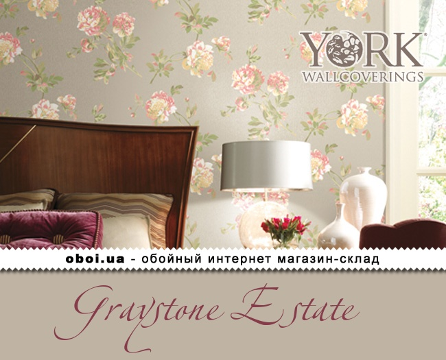 Обои York Graystone Estate