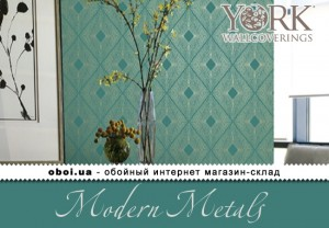 Шпалери York Modern Metals