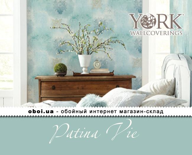 Паперові шпалери York Patina Vie