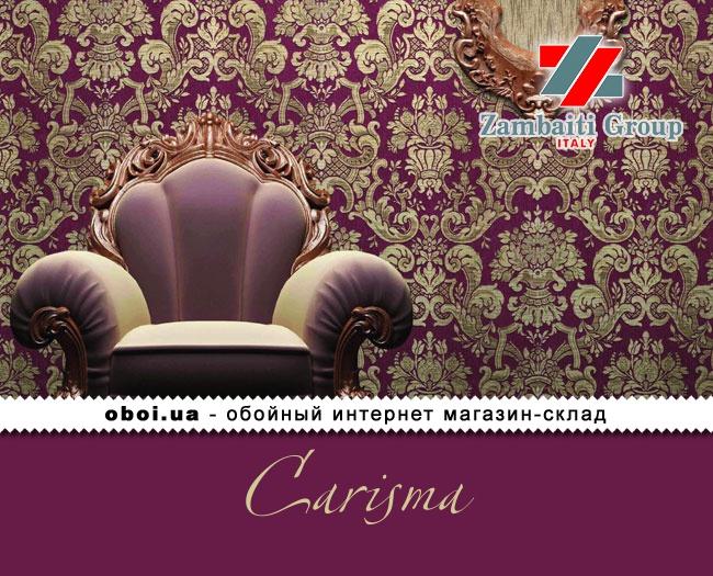 Вінілові шпалери на паперовій основі Zambaiti Group (D&C) Carisma