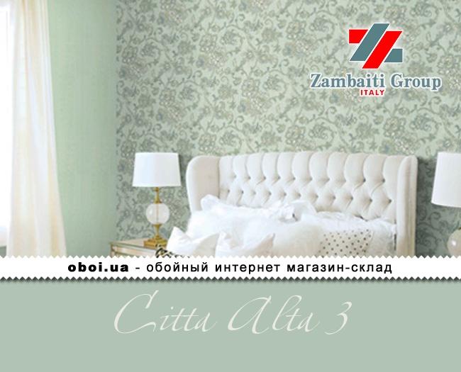 Вінілові шпалери на паперовій основі Zambaiti Group (D&C) Citta Alta 3