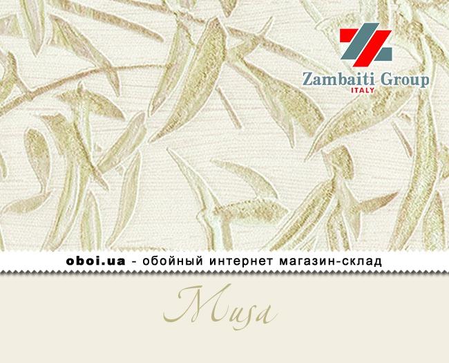 Вінілові шпалери на паперовій основі Zambaiti Group (D&C) Musa