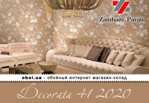 Обои Zambaiti Parati Decorata 41 2020