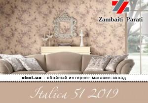 Обои Zambaiti Parati Italica 51 2019