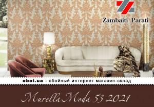 Обои Zambaiti Parati Murella Moda 53 2021