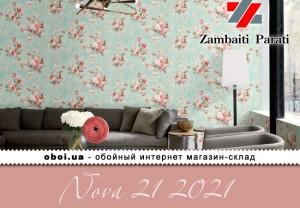 Обои Zambaiti Parati Nova 21 2021