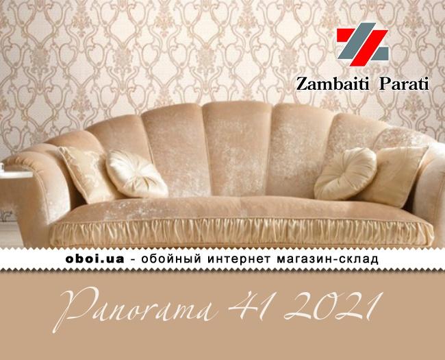 Виниловые обои на флизелиновой основе Zambaiti Parati Panorama 41 2021