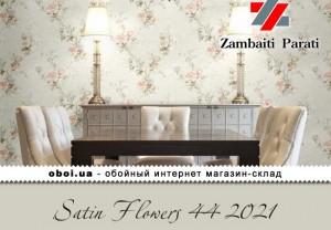 Обои Zambaiti Parati Satin Flowers 44 2021