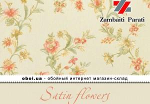 Обои Zambaiti Parati Satin flowers