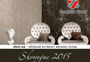Обои Zambaiti Parati Showogue 2015