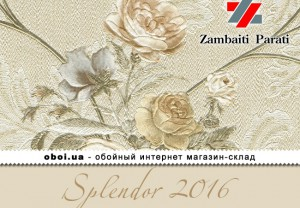 Обои Zambaiti Parati Splendor 2016